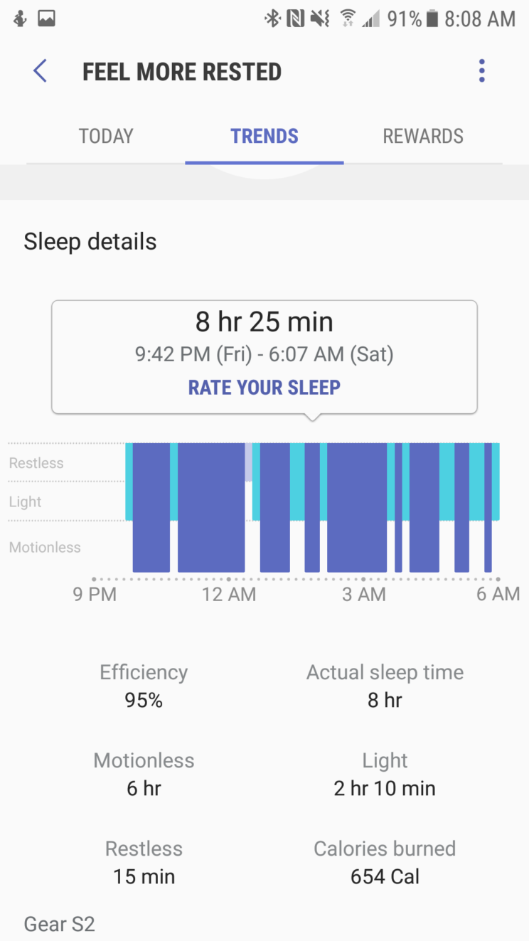 less caffeine more sleep